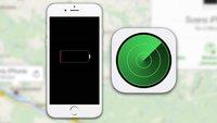 iPhone mit leerem Akku orten: Letzten Standort ermitteln (Tipp)