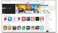 Apps, Musik und Filme zurückgeben: Widerrufsrecht in iTunes