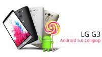 LG G3: Update auf Android 5.0 Lollipop jetzt auch für Geräte ohne Branding