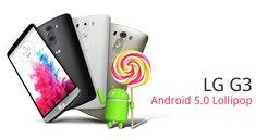 LG G3: Update auf Android 5.0 Lollipop wird in Deutschland verteilt