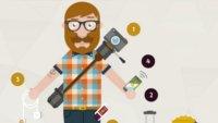 Lifehacks für technikbegeisterte Reisende (Infografik)