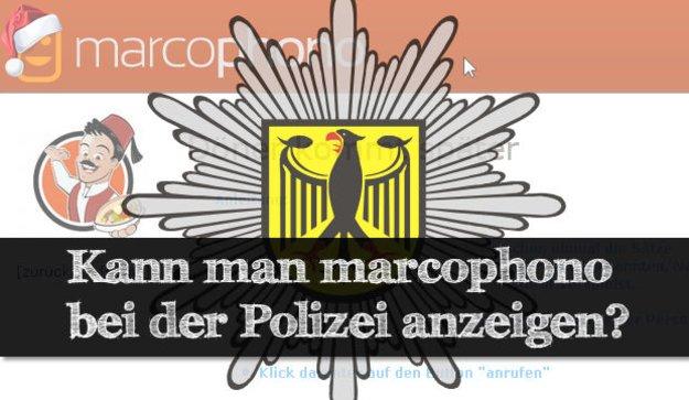 Marcophono Polizei