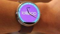 Android Wear 5.0.1 Lollipop: Update steht für Moto 360 & Co. bereit