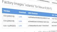 Android 5.0.1 Lollipop: Factory Images und OTA-Updates für Nexus-Geräte zum Download