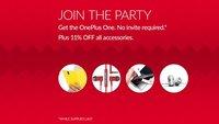 OnePlus One: Gerät zum Geburtstag ohne Invite bestellbar, 11 Prozent auf Zubehör, Wettbewerbe & mehr