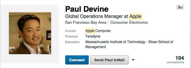 Ex-Apple-Einkaufsleiter muss für ein Jahr ins Gefängnis
