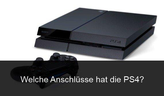 Welche Anschlüsse hat die PS4? Infos zu USB, Audio, Scart und mehr