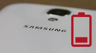 Samsung Galaxy S3, S4, S5, S6, S7, S8 (edge): Akku schnell leer? Mit diesen Tipps nicht mehr!