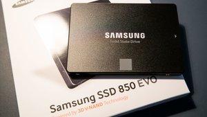 Samsung SSD 850 EVO: Die Zuverlässige für Heimanwender