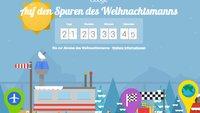 Santa Tracker: App für Weihnachten 2014 aktualisiert, Support für Android Wear
