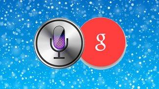 Schneit es an Weihnachten? Google Now & Siri verraten es!