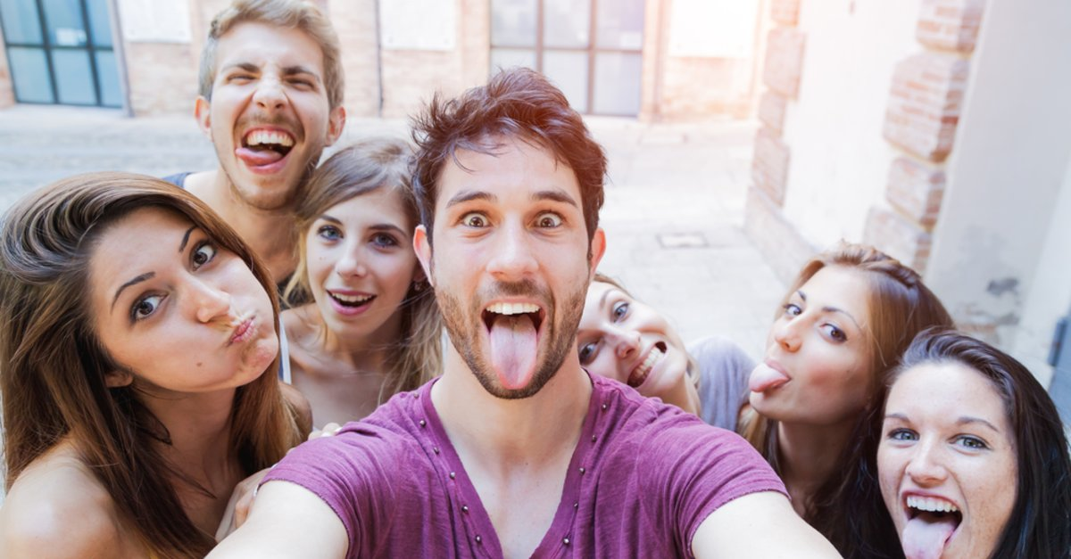 weiblich ab selfies