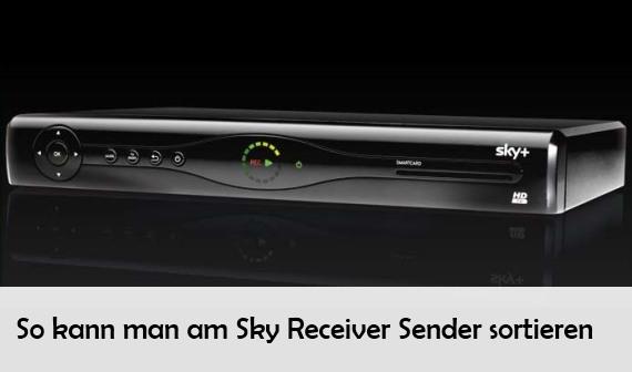 Sky receiver sendersuchlauf