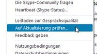 Skype-Update downloaden & aktualisieren