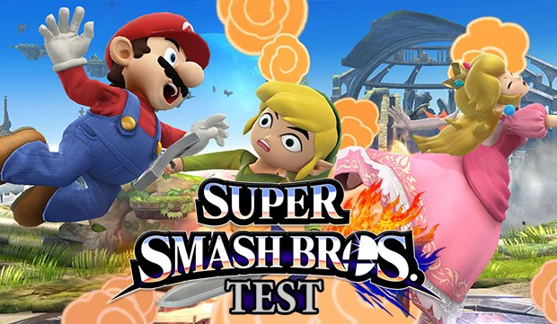 Super Smash Bros. Wii U Test