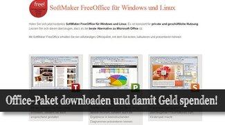 Gratis-Officepaket Downloaden und Gutes dabei tun