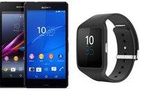 Sony: Xperia Z1 oder Z3 compact bei Amazon kaufen, 50 Euro bei SmartWatch 3 sparen [Deal]