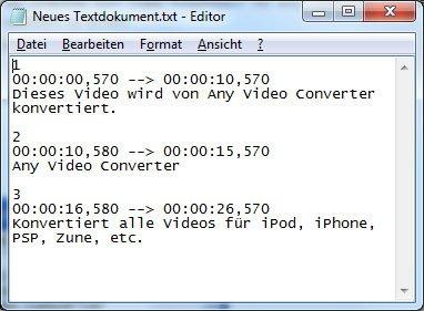 SRT-Datei öffnen, abspielen und einbinden: Das sollte man wissen