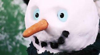 Samsung baut einen Schneemann mit drei Galaxy S5 (Video)