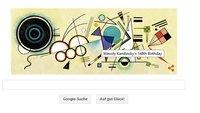Wassily Kandinsky: Was zeigt das Google Doodle heute am 16. Dezember?