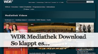 WDR Mediathek Download: Filme speichern