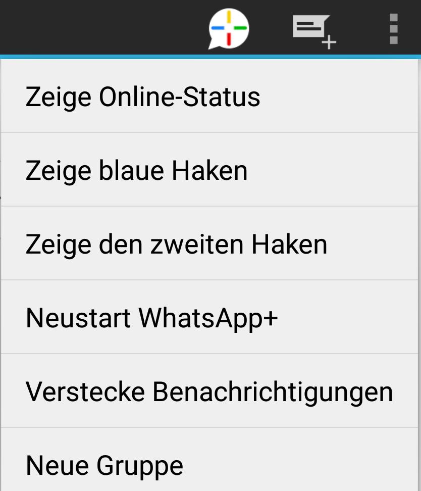 Whatsapp blaue Haken OBWOHL nicht online (Smartphone)