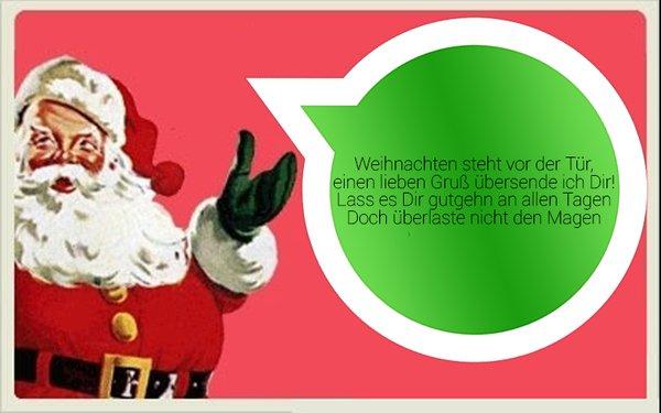Frohe Weihnachten mit WhatsApp: Schöne Advents-Sprüche zum ...