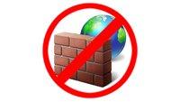 Windows: Firewall deaktivieren & aktivieren – so geht's
