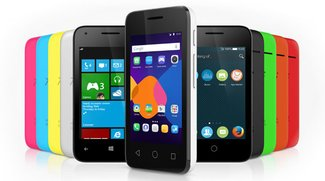 Alcatel OneTouch PIXI 3 mit Android, Windows Phone und Firefox OS [CES 2015]