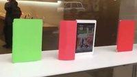 Apple Store: Wie durch Zauberhand bewegte Smart Cover zieren Schaufenster