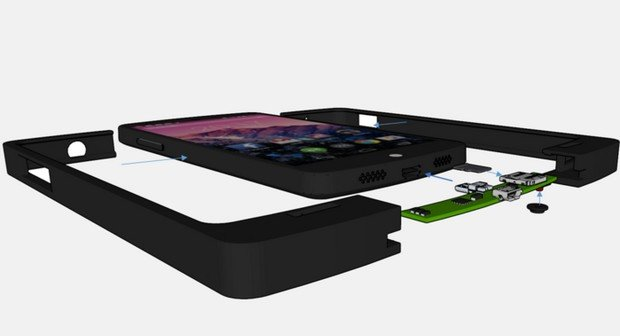 ExoDrive Case: Kickstarter-Projekt entwickelt microSD-Slot für Nexus 5