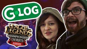 G-Log: Kristin und Niklas bei der LoL-Eröffnung!