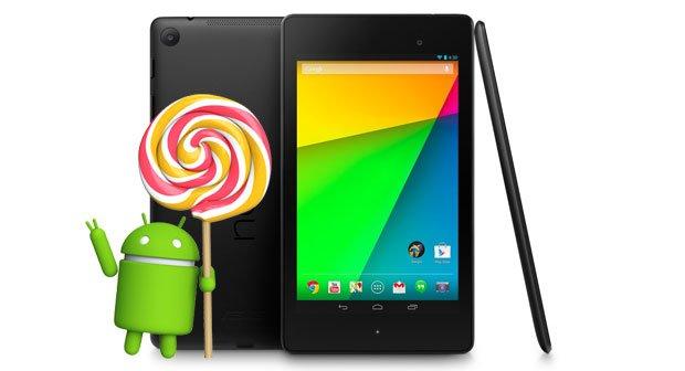 Nexus 7 LTE (2013): Android 5.0 Lollipop per CyanogenMod verfügbar – noch vor offiziellem Update