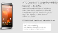 Keine Google Play-Editionen mehr im Play Store verfügbar