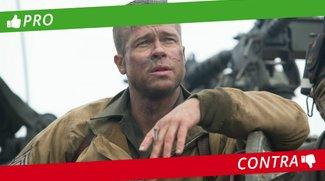 Pro & Contra: Ist Herz aus Stahl ein gelungener Kriegsfilm?