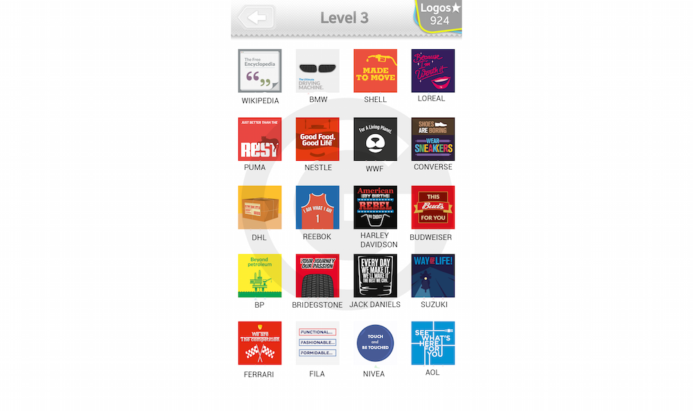 Logo Quiz Extra Levels L 246 Sungen Slogans Level 3 Giga