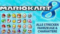 Mario Kart 8: Tipps, Tricks und Cheats für Wii U