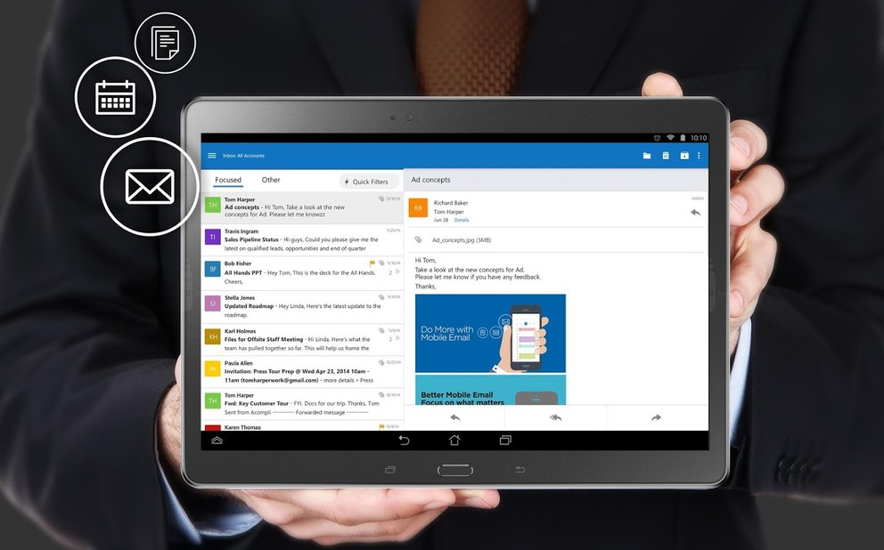 Microsoft-Outlook-fuer-Android