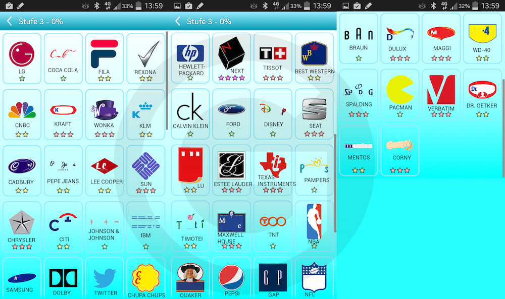 picture quiz logos � l246sungen level 3 giga