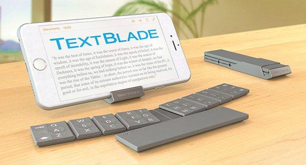 WayTools TextBlade: Kompakte Multitouch-Tastatur