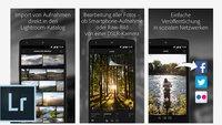 Adobe Lightroom für Android erschienen