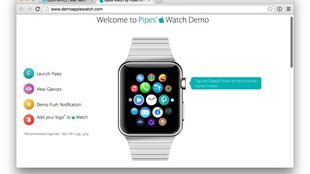 Apple Watch Simulator: Demo im Browser