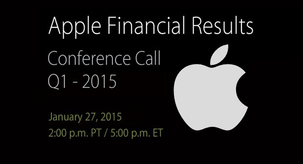 Erneutes Rekordergebnis von Apple erwartet, Zahlen folgen am 27.01.
