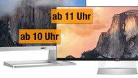 Heute günstiger zum Bestpreis: 4K-Monitor, Thunderbolt-2-Display, iPhone-Tastatur und mehr