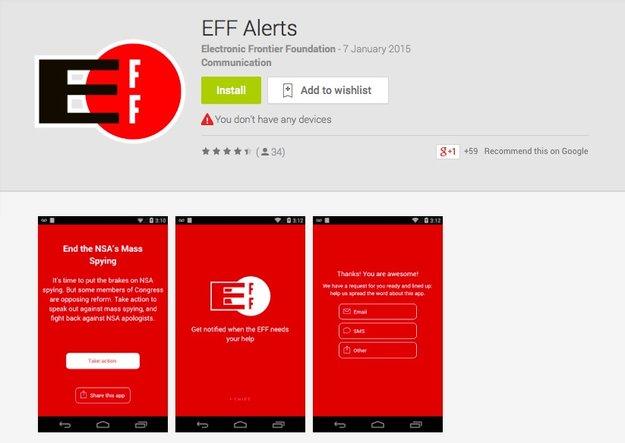 EFF veröffentlicht Android-App - iOS-App wegen Apples Bedingungen nicht möglich