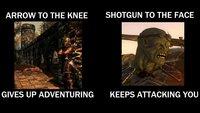 Fundstück: Skyrim vs. Fallout 3 - wer gewinnt den Kampf?