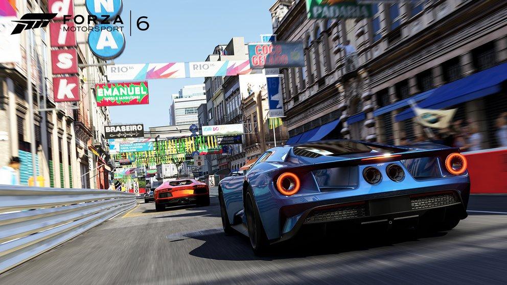 Forza Motorsport 6: Auch Rundkurse in Städten sind mit von der Partie.