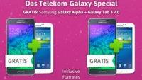 Galaxy-Bundle: Galaxy Alpha mit Samsung Tab 3 7.0 für 0€ mit Telekom Special Allnet (34,95 €)