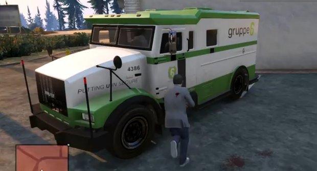 GTA 5: Geldtransporter finden, überfallen und knacken