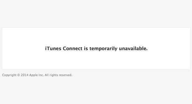 Falscher Nutzer: iTunes Connect nach Fehler offline (Update)